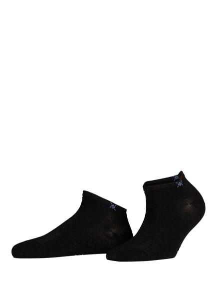 Burlington Sneakersocken SOHO VIBES mit Glitzergarn, Farbe: 3000 BLACK (Bild 1)