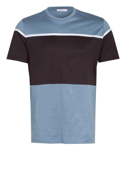 REISS T-Shirt BLOCK, Farbe: HELLBLAU/ SCHWARZ (Bild 1)