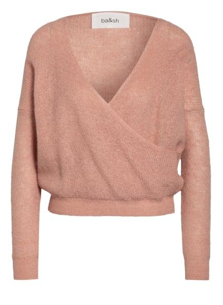 ba&sh Pullover FLORA in Wickeloptik, Farbe: NUDE (Bild 1)