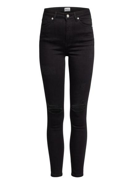 NA-KD Skinny Jeans, Farbe: BLACK (Bild 1)