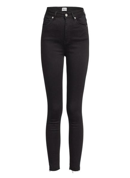 NA-KD 7/8-Skinny Jeans, Farbe: BLACK (Bild 1)