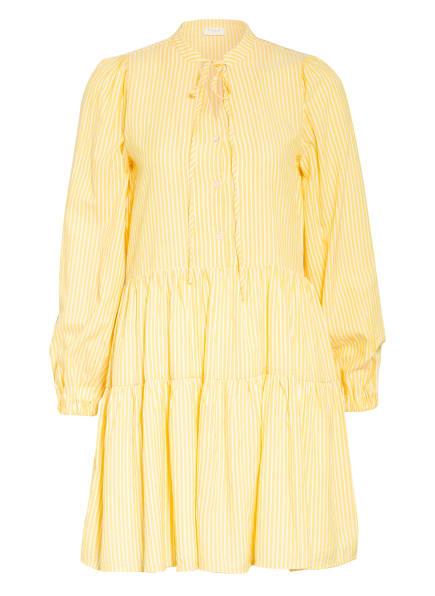 VILA Kleid, Farbe: GELB/ WEISS (Bild 1)