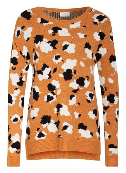 VILA Pullover, Farbe: CAMEL/ ECRU/ SCHWARZ (Bild 1)