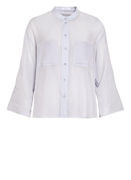REISS Bluse GIOVANNA mit 3/4-Arm und Seide, Farbe: HELLBLAU (Bild 1)