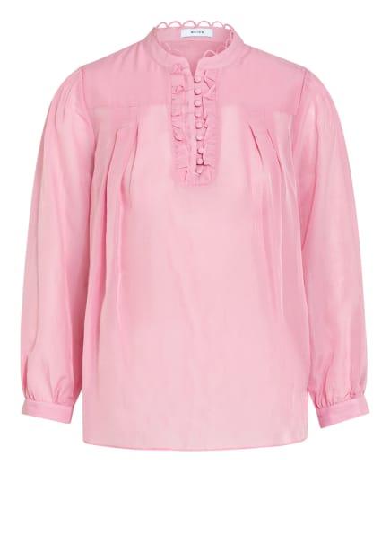 REISS Blusenshirt ASHLYN mit Seide , Farbe: ROSA (Bild 1)
