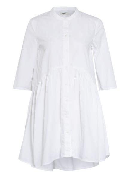 ONLY Kleid mit 3/4-Arm, Farbe: WEISS (Bild 1)