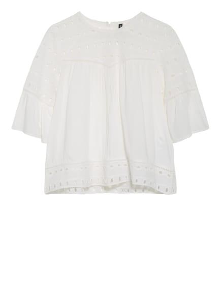 ONLY Blusenshirt mit Lochspitze, Farbe: WEISS (Bild 1)