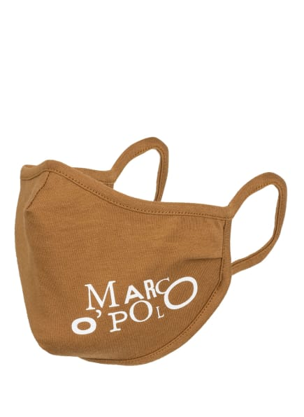 Marc O'Polo Mund- und Nasenmaske, Farbe: CAMEL (Bild 1)