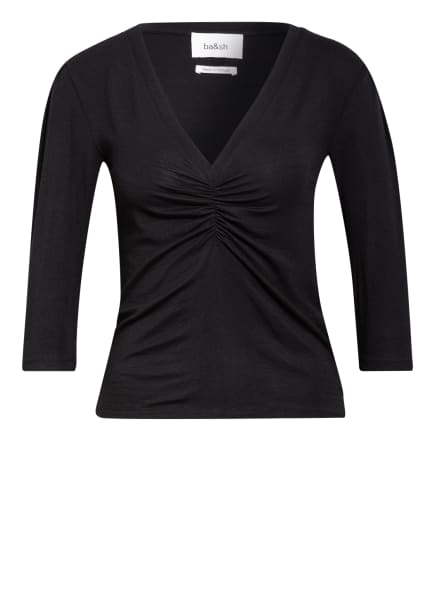 ba&sh Shirt CLAY mit 3/4-Arm , Farbe: SCHWARZ (Bild 1)