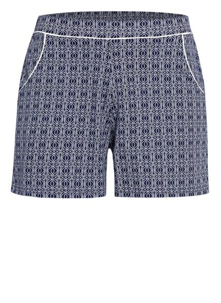 CALIDA Lounge-Shorts FAVOURITES SPRING , Farbe: DUNKELBLAU/ WEISS (Bild 1)