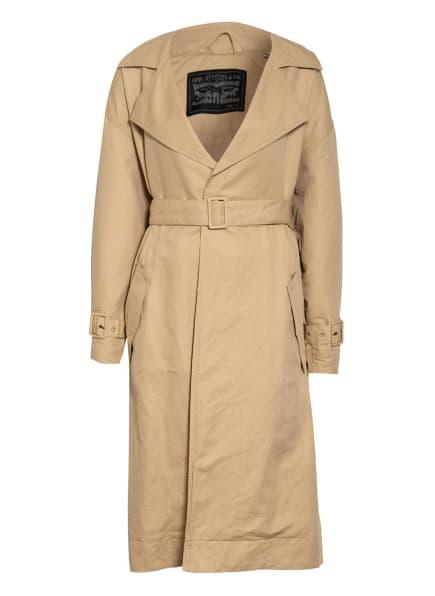 Levi's® Trenchcoat MIKO mit Leinen, Farbe: BEIGE (Bild 1)