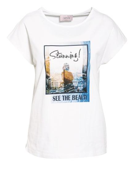 CARTOON T-Shirt, Farbe: WEISS/ BLAU (Bild 1)