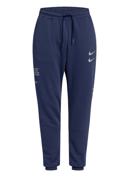 Nike Sweatpants SPORTSWEAR SWOOSH, Farbe: BLAU (Bild 1)