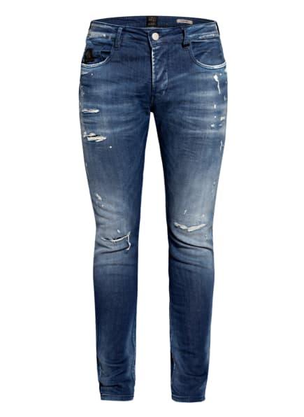 ER ELIAS RUMELIS Destroyed Jeans ERNOEL Comfort Fit, Farbe: 527 Aquamarine Blue (Bild 1)
