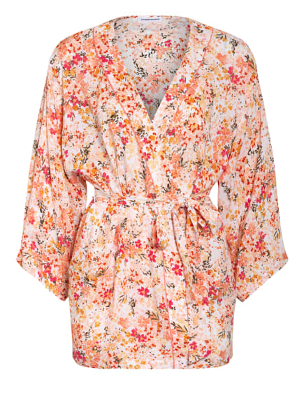 Passionata Kimono LENY mit 3/4-Arm , Farbe: CREME/ LACHS/ DUNKELGELB (Bild 1)