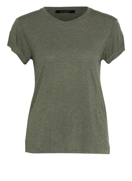 ALL SAINTS T-Shirt ANNA, Farbe: OLIV/ SILBER (Bild 1)