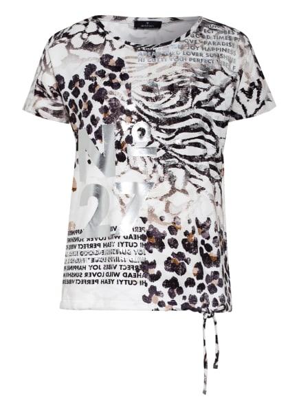 monari T-Shirt, Farbe: WEISS/ SCHWARZ/ BRAUN (Bild 1)