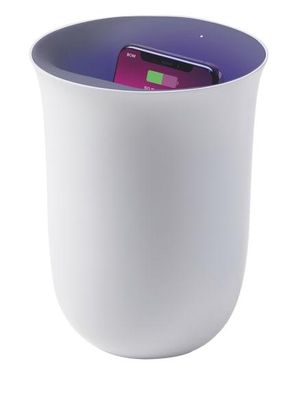LEXON 2-in1-Ladestation mit UV-Sterilisator OBLIO, Farbe: WEISS (Bild 1)
