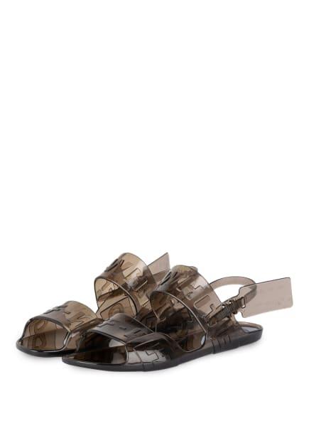 Off-White Sandalen , Farbe: GRAU (Bild 1)