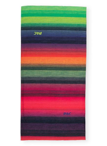 P.A.C. Multifunktionstuch mit UV-Schutz 40+, Farbe: GRÜN/ LILA/ ROSA (Bild 1)