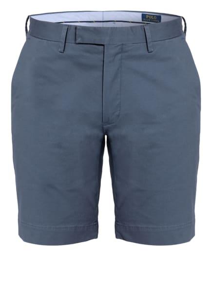 POLO RALPH LAUREN Chino-Shorts HUDSON Slim Fit, Farbe: BLAUGRAU (Bild 1)