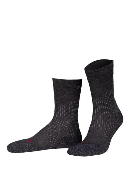 FALKE Trekking-Socken STABILIZING WOOL , Farbe: 3180 ASPHALT MEL. (Bild 1)