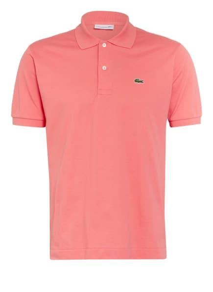 LACOSTE Piqué-Poloshirt Classic Fit, Farbe: HELLROT (Bild 1)