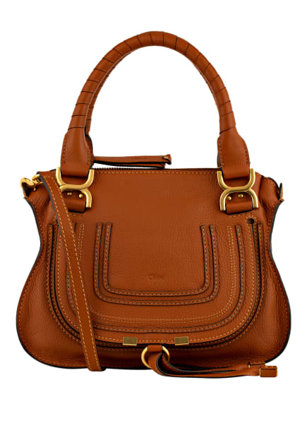 Chloé Handtasche MARCIE SMALL, Farbe: 25M TAN (Bild 1)