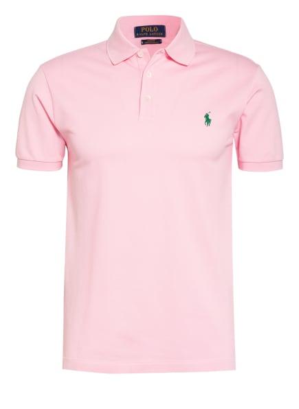 POLO RALPH LAUREN Piqué-Poloshirt Slim Fit, Farbe: ROSA (Bild 1)