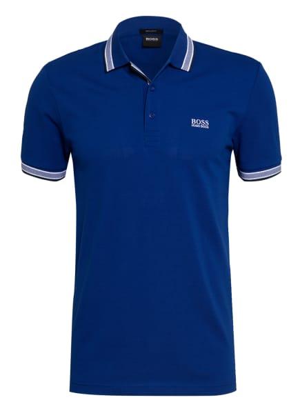 BOSS Piqué-Poloshirt PADDY Regular Fit, Farbe: BLAU/ WEISS (Bild 1)