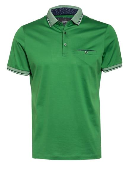 RAGMAN Jersey-Poloshirt, Farbe: GRÜN (Bild 1)