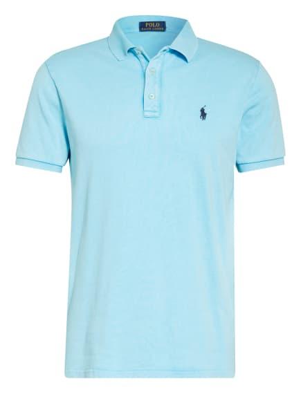 POLO RALPH LAUREN Jersey-Poloshirt, Farbe: HELLBLAU (Bild 1)