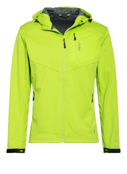 me°ru' Softshell-Jacke BREST, Farbe: HELLGRÜN (Bild 1)