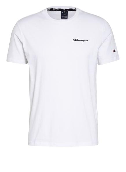 Champion T-Shirt, Farbe: WEISS/ DUNKELBLAU (Bild 1)