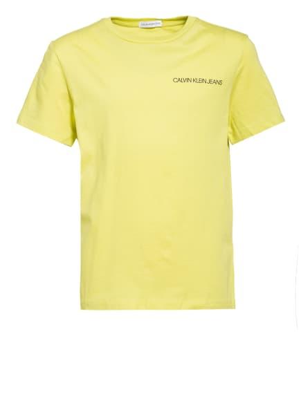 Calvin Klein T-Shirt, Farbe: DUNKELGELB (Bild 1)
