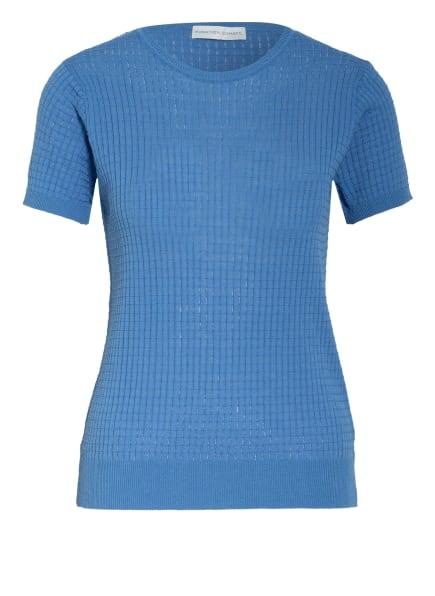 FUNKTION SCHNITT, Strickshirt MAKO, Farbe: BLAU (Bild 1)