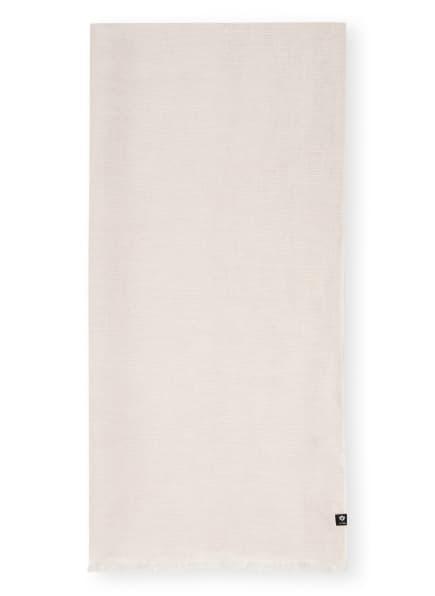 FRAAS Schal mit Leinen, Farbe: BEIGE/ WEISS (Bild 1)