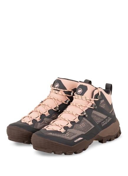 MAMMUT Outdoor-Schuhe DUCAN MID GTX, Farbe: BRAUN/ DUNKELGRAU/ HELLROSA (Bild 1)