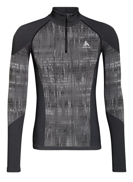 odlo Funktionswäsche-Shirt BLACKCOMB, Farbe: SCHWARZ/ GRAU (Bild 1)