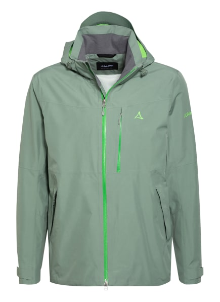Schöffel Outdoor-Jacke PADON, Farbe: HELLGRÜN/ NEONGRÜN (Bild 1)