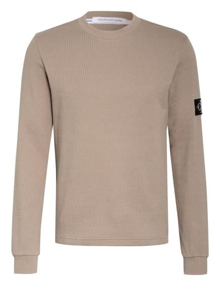 Calvin Klein Jeans Pullover, Farbe: BEIGE (Bild 1)