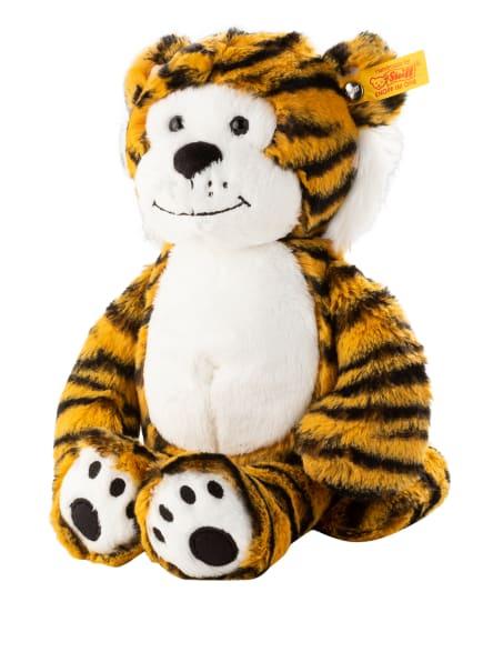 Steiff Tiger-Kuscheltier TONI TIGER, Farbe: HELLORANGE/ SCHWARZ/ WEISS (Bild 1)