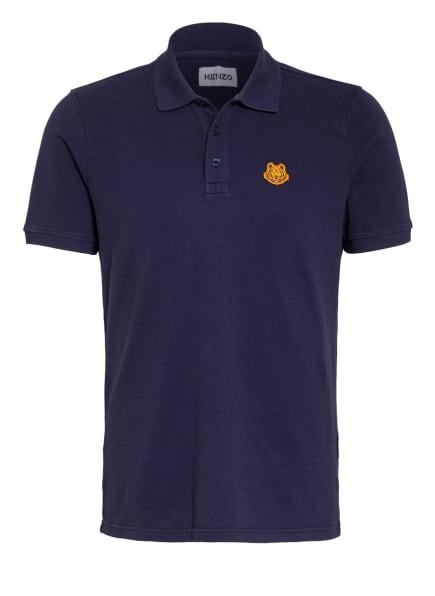 KENZO Piqué-Poloshirt TIGER CREST, Farbe: DUNKELBLAU (Bild 1)