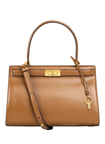 TORY BURCH Handtasche LEE RADZIWILL, Farbe: COGNAC (Bild 1)