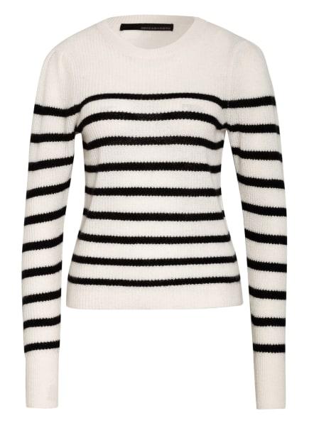 360CASHMERE Cashmere-Pullover , Farbe: WEISS/ SCHWARZ (Bild 1)
