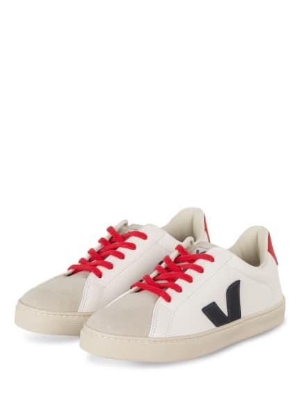VEJA Sneaker ESPLAR, Farbe: WEISS/ DUNKELBLAU/ ROT (Bild 1)