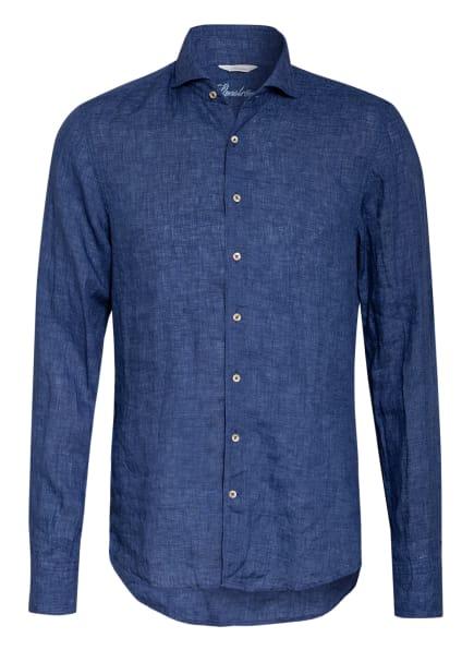 Stenströms Leinenhemd Slim Fit, Farbe: DUNKELBLAU (Bild 1)