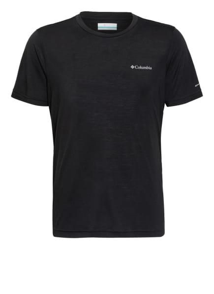 Columbia T-Shirt MAXTRAIL™, Farbe: SCHWARZ (Bild 1)