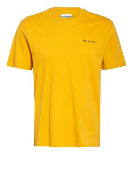 Columbia T-Shirt, Farbe: GELB (Bild 1)