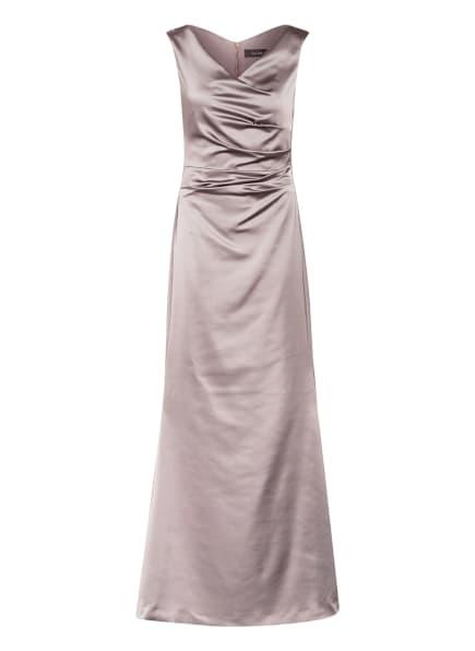 Vera Mont Abendkleid aus Satin, Farbe: TAUPE (Bild 1)